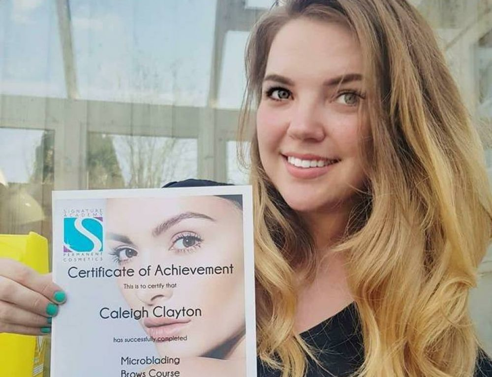 Ready for their new Career in Microblading at VTCT Level 4