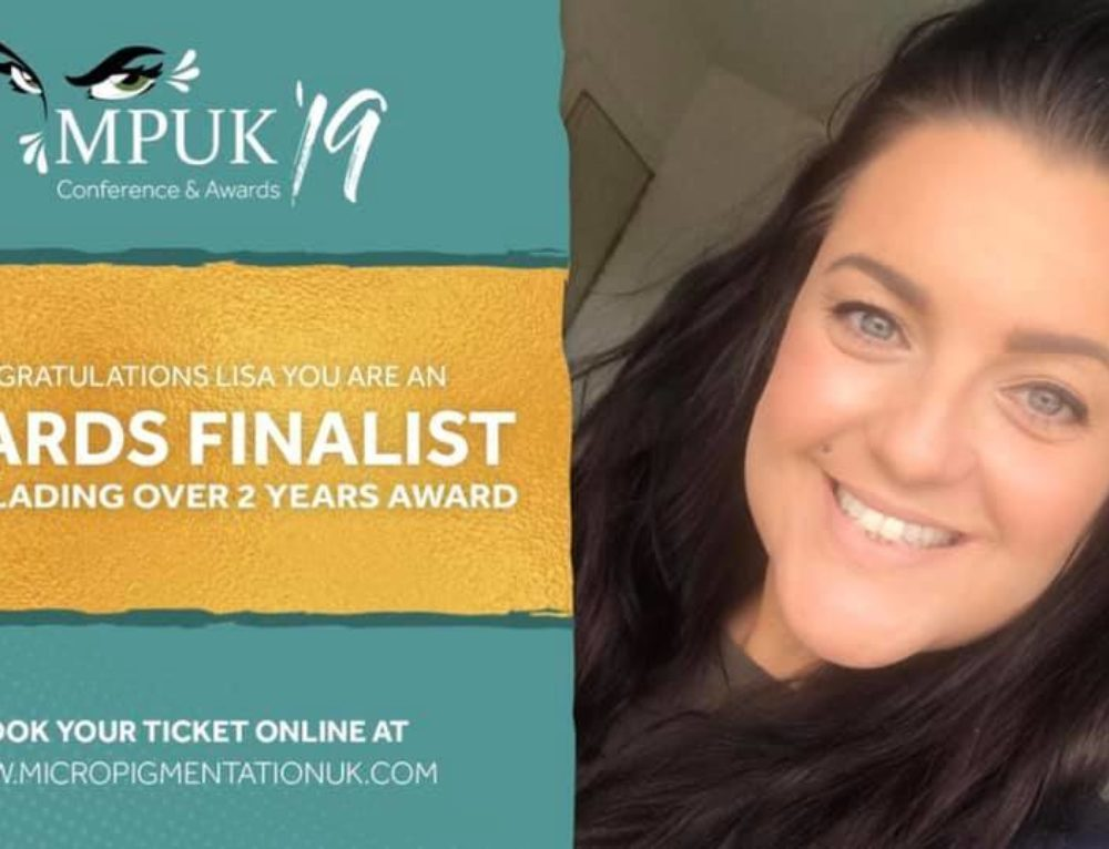 Our Student Nominated for Microblading Award
